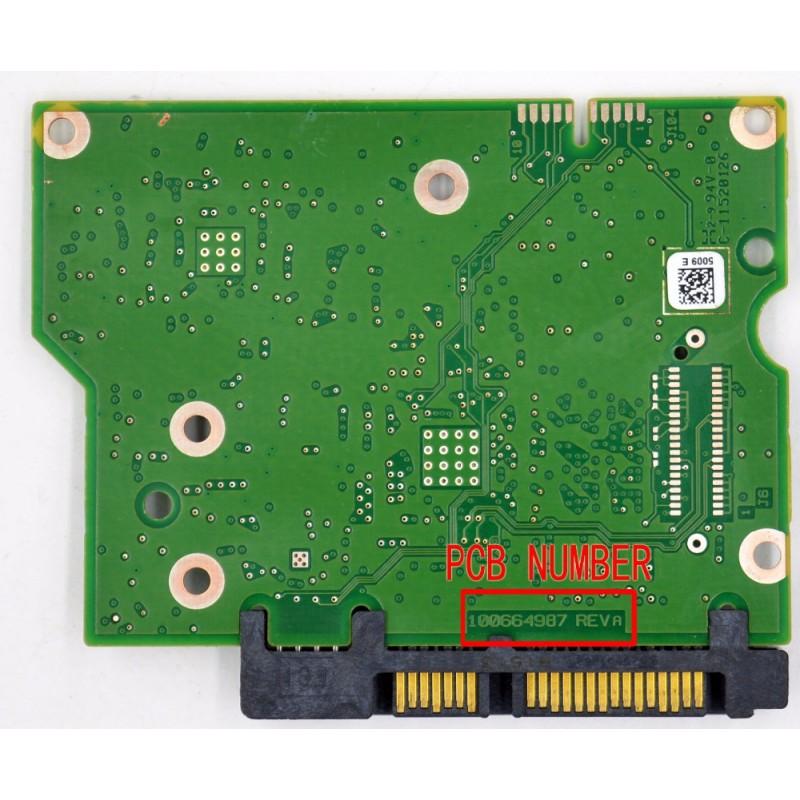 PCB Seagate 100664987